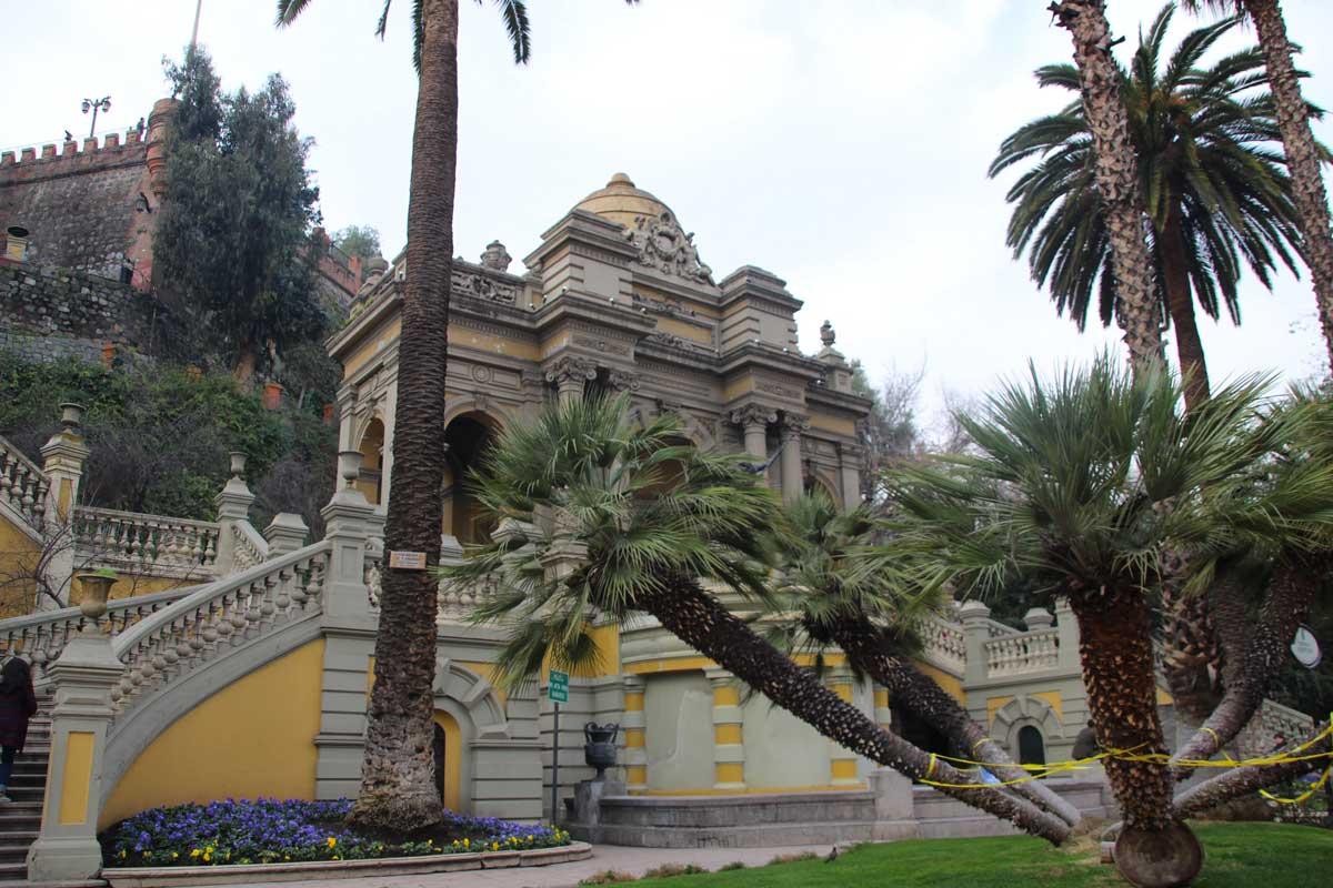 Cerro Santa Lucia santiago