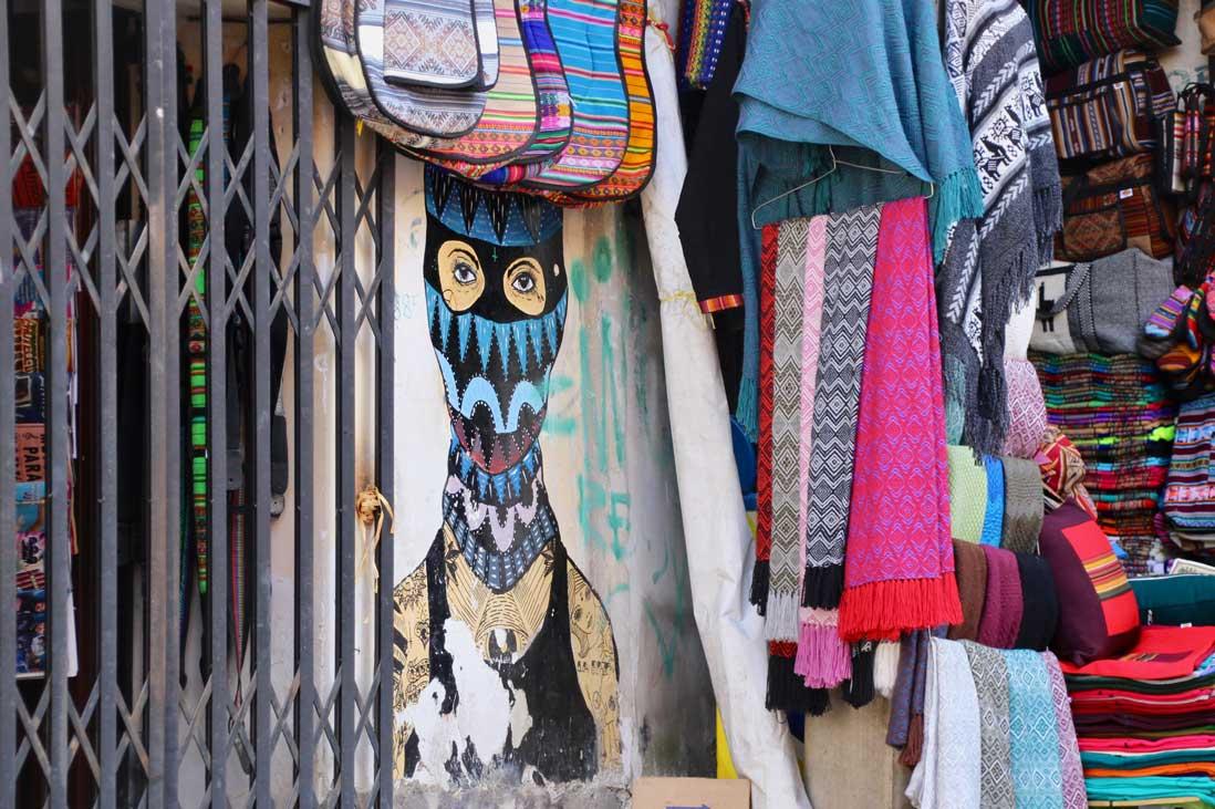 rue touristique la paz