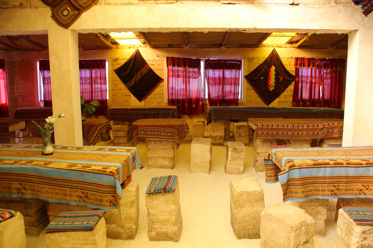 hotel de sel dans le salar uyuni