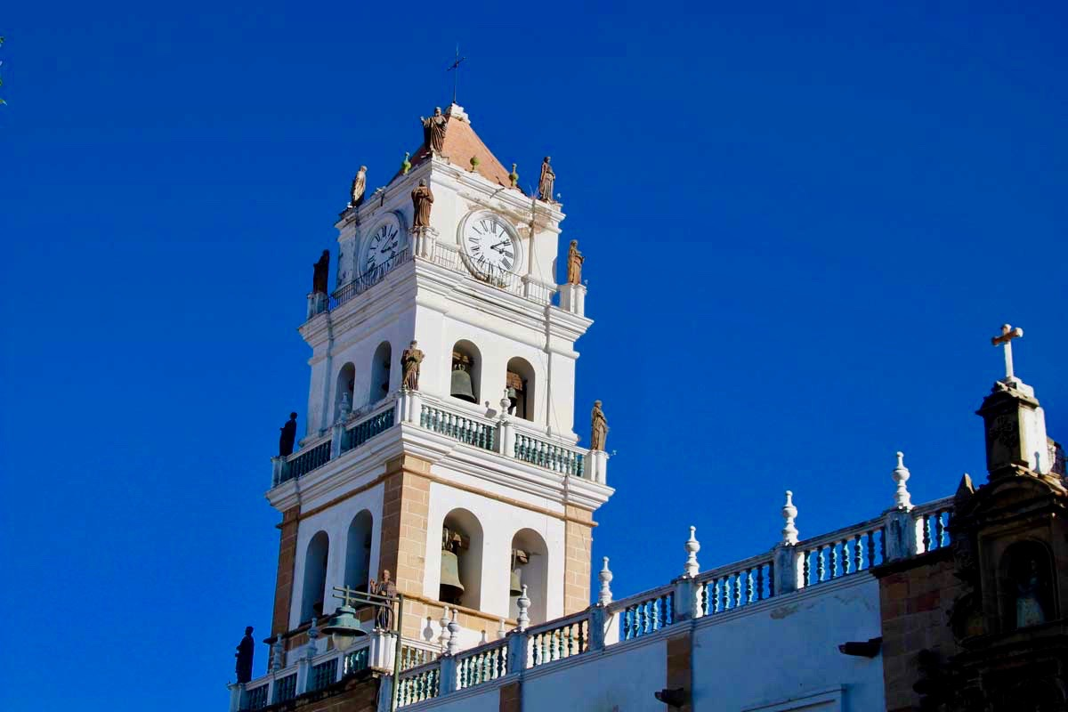 tour cathedrale Sucre Bolivie