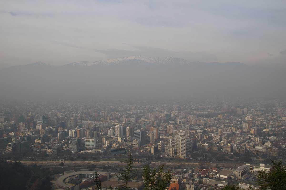 vue santiago Cerro San cristobal