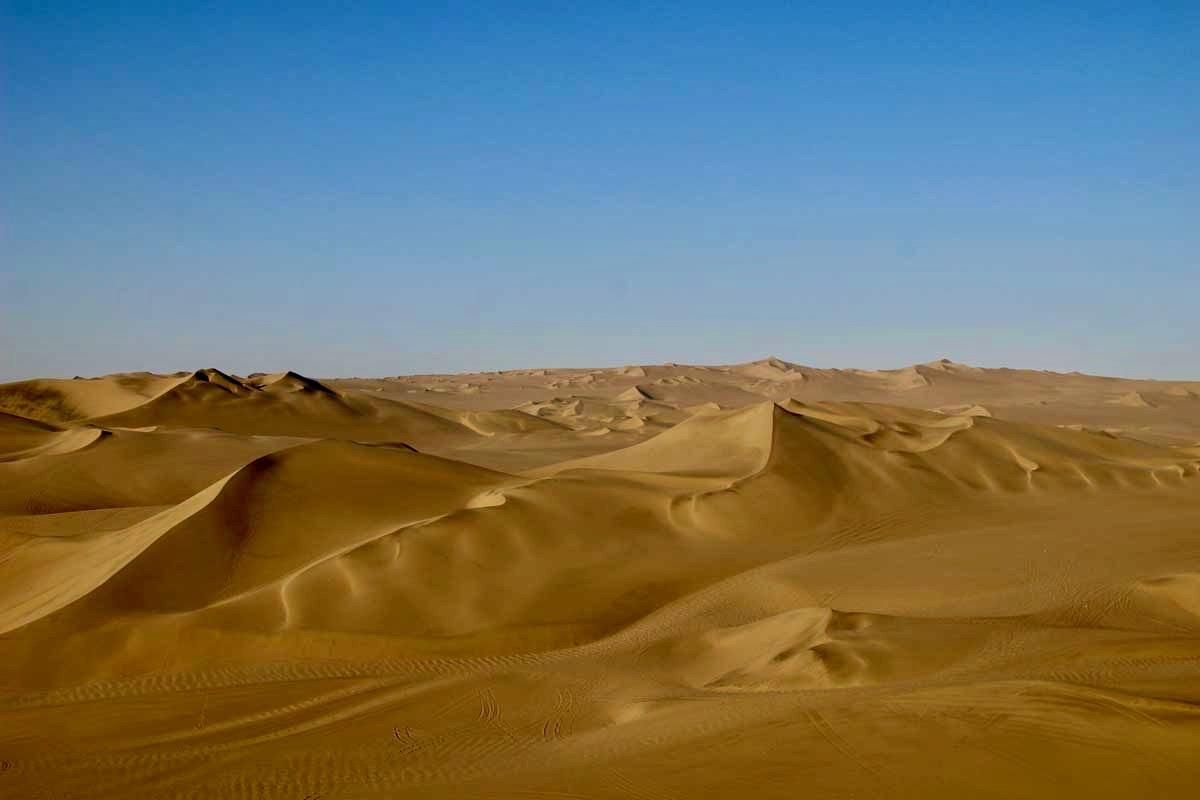 Oasis Huacachina Perou payages dunes