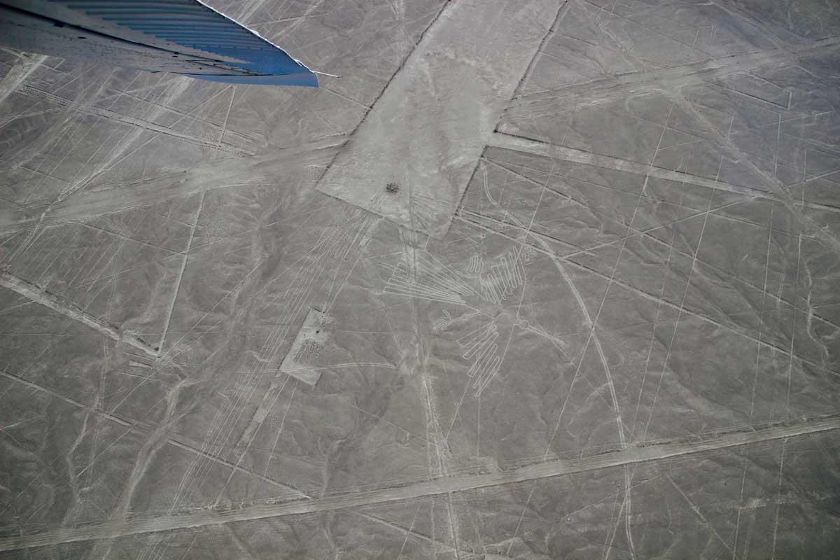 Survol lignes Nazca Perou