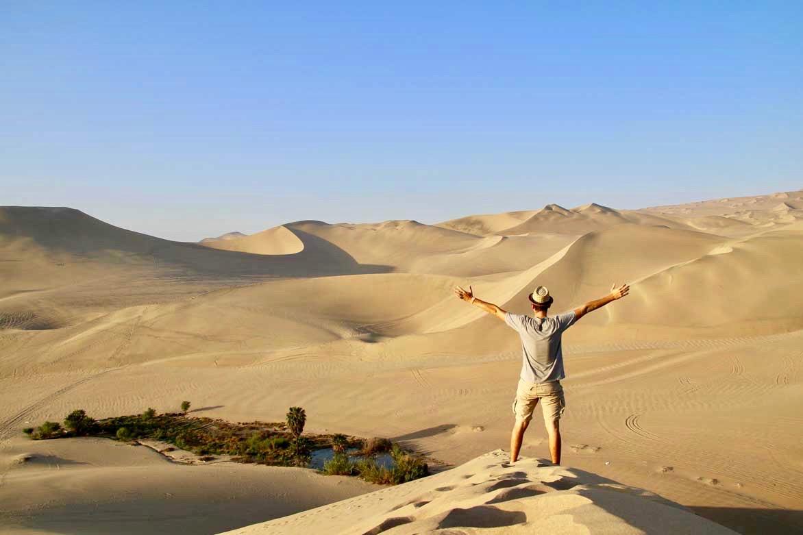 Tom dunes lever de soleil