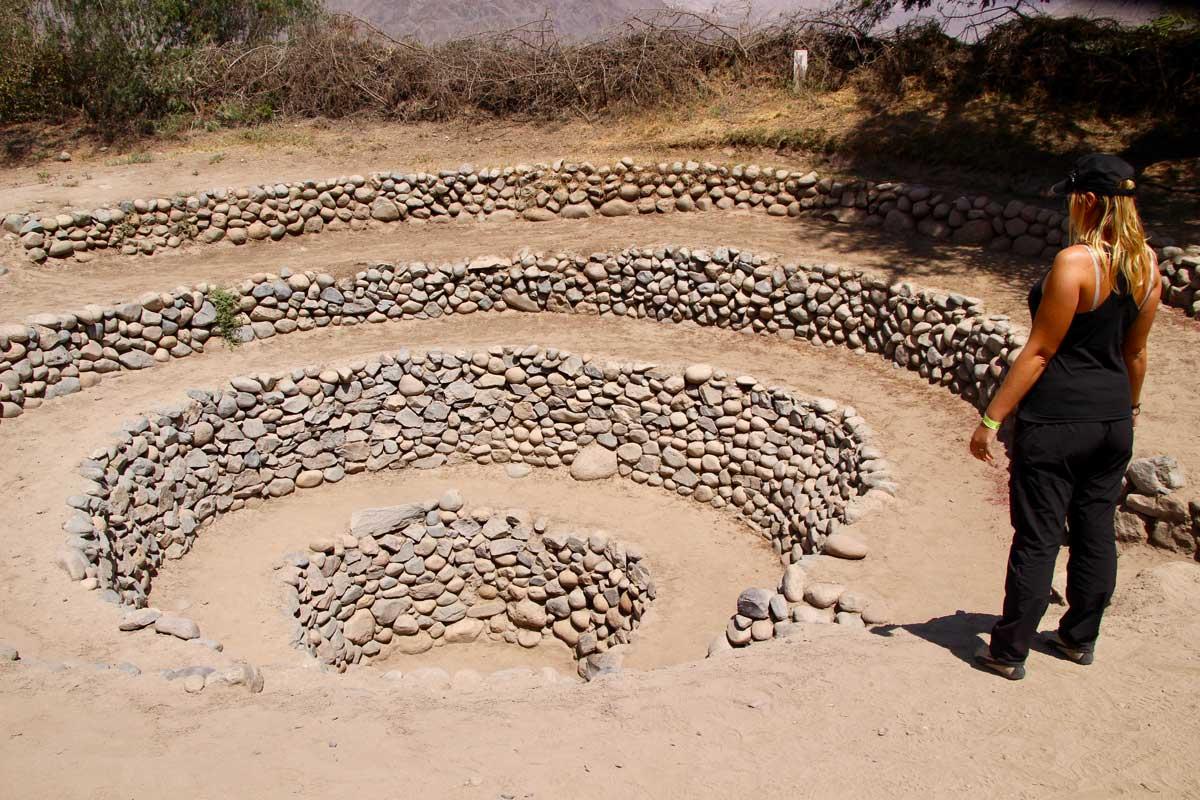 aqueducs Cantalloc nazca