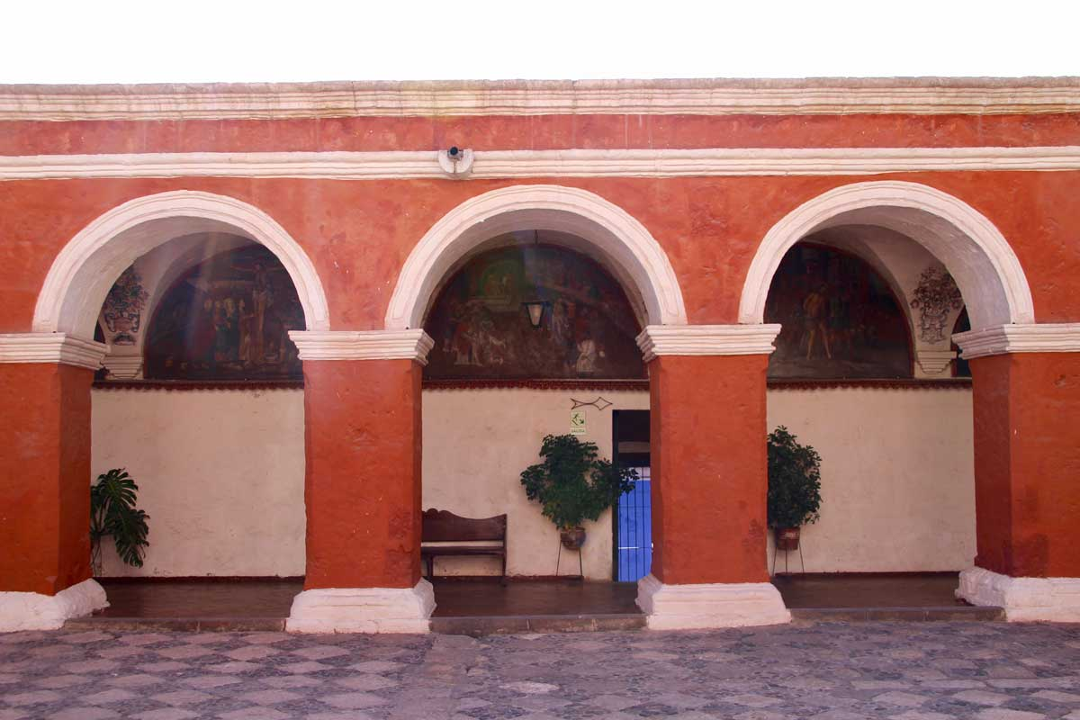 arches Couvent Santa Catalina Arequipa