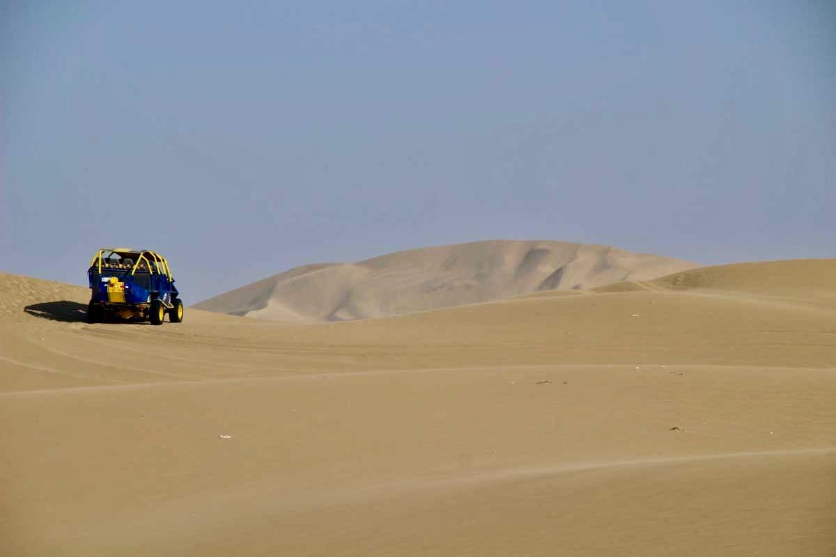 buggy dune Oasis Huacachina Perou