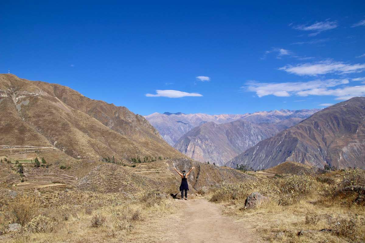 trek du canyon du colca en 3 jours sans agence