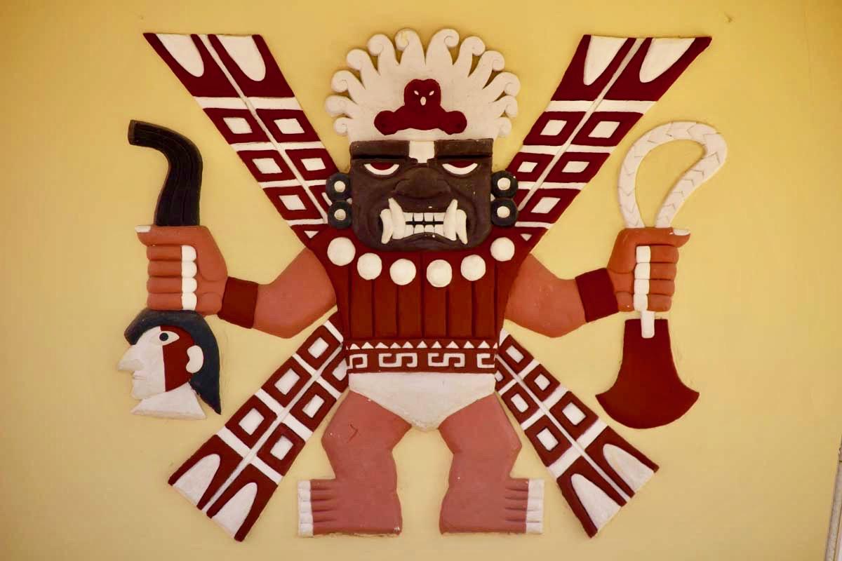 dieu sican Museo Tumbas Reales Sipan chiclayo