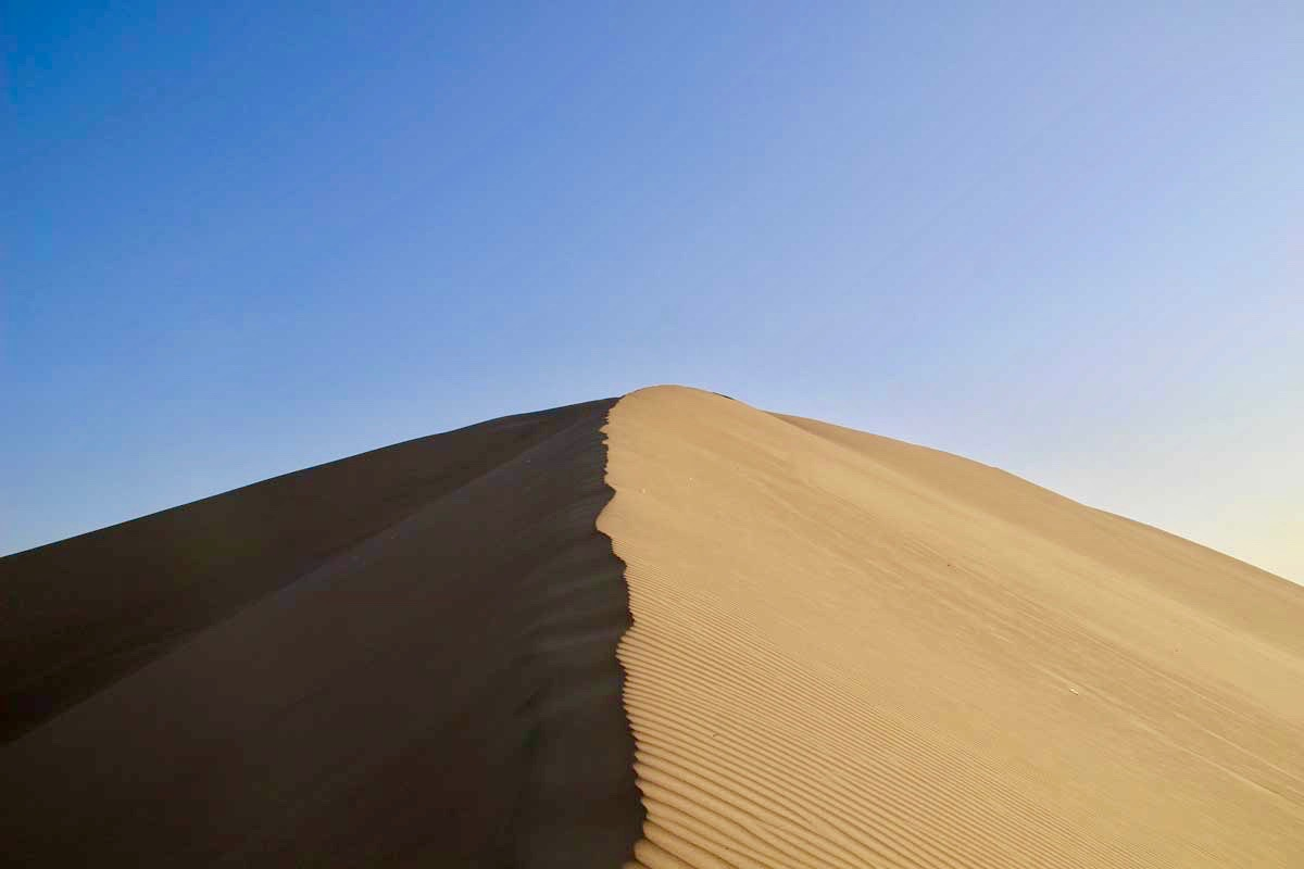 dune soleil Oasis Huacachina Perou