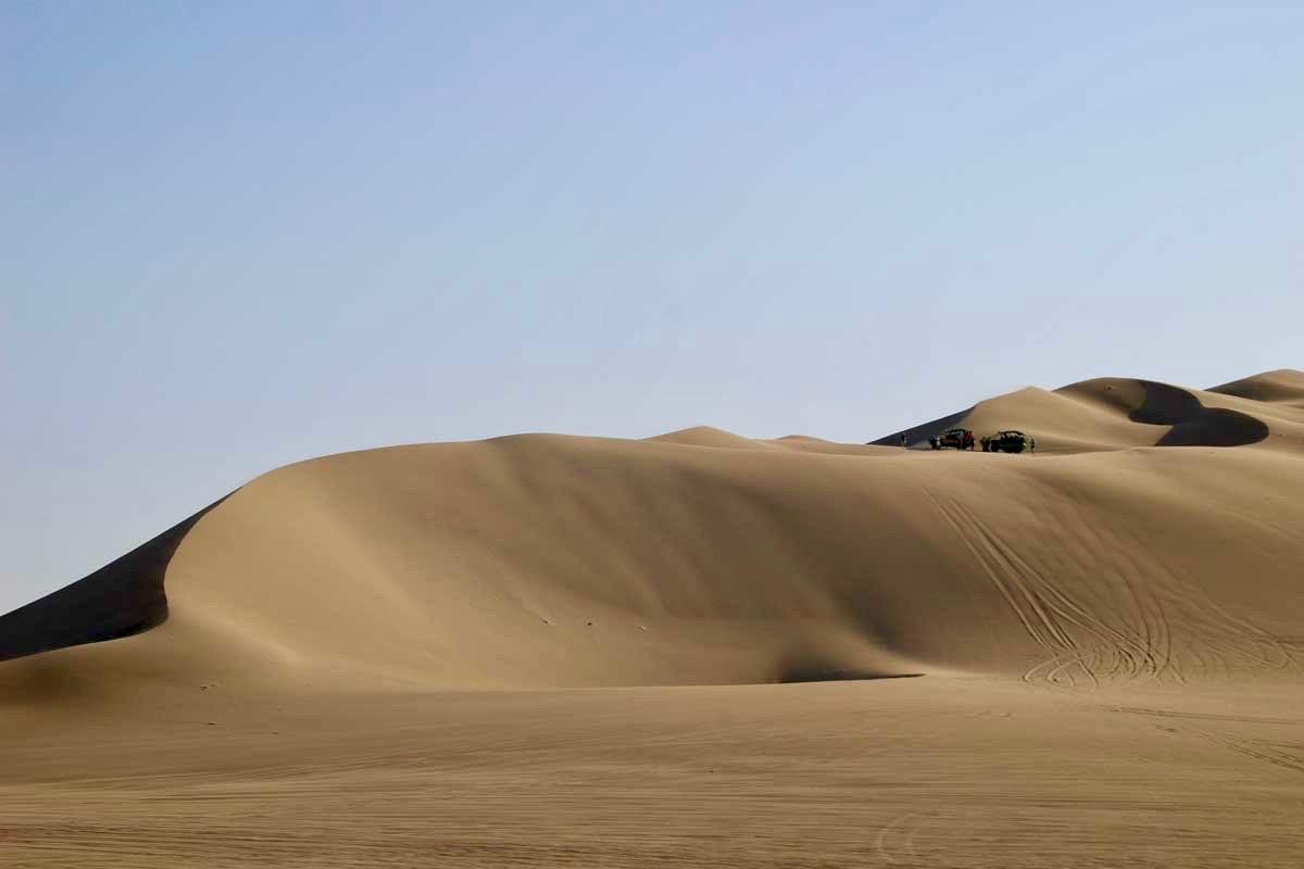 dunes Oasis Huacachina Perou