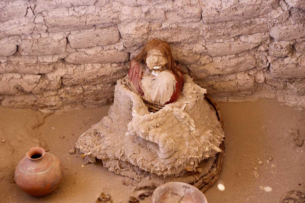 momie cimetiere Chauchilla nazca