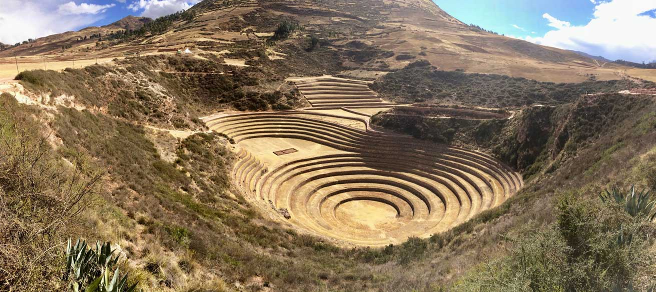 Moray la Vallee Sacree des Incas Cusco
