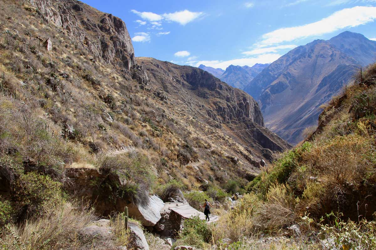 3 jours trek canyon colca sans guide