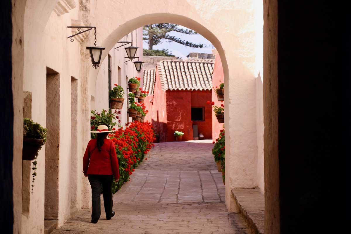 rue Couvent Santa Catalina Arequipa