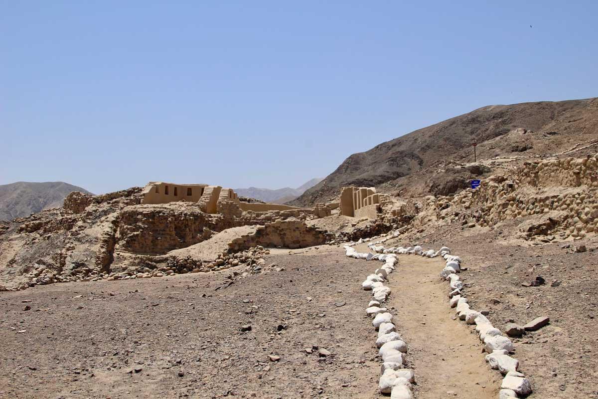 ruines Los Paredones nazca