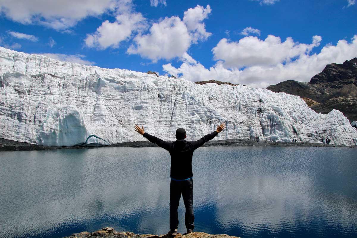 glacier pastoruri huaraz perou