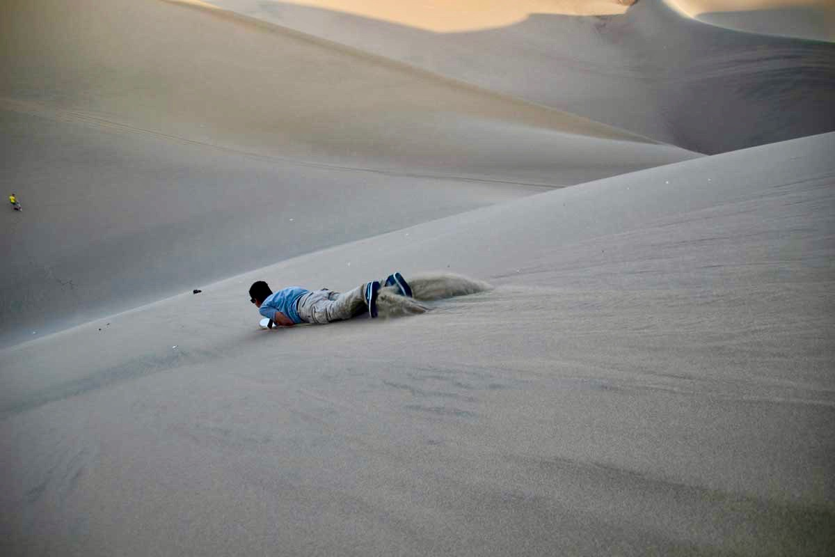 tom descente sandboard