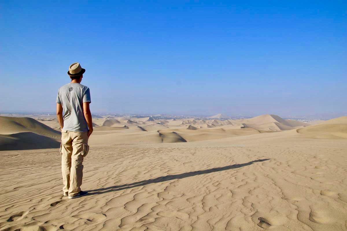 tom dunes Oasis Huacachina Perou