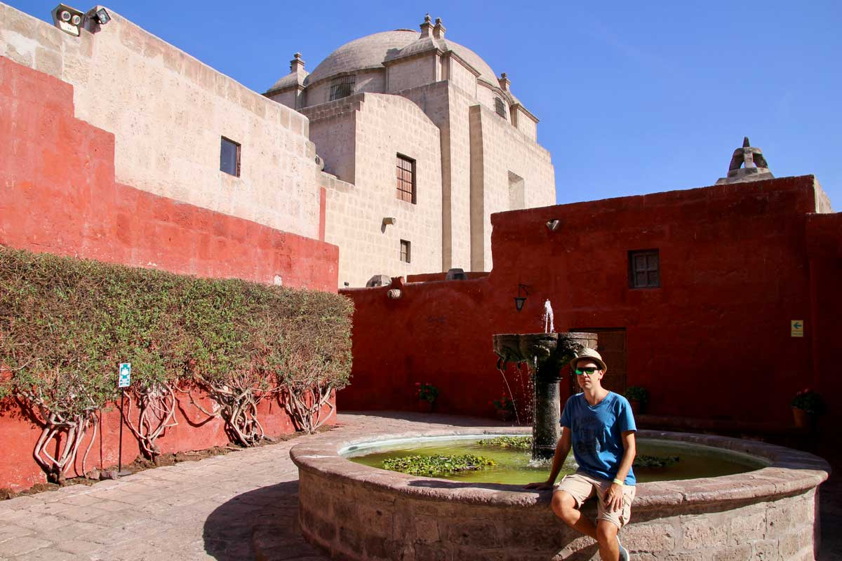 tom fontaine Couvent Santa Catalina Arequipa
