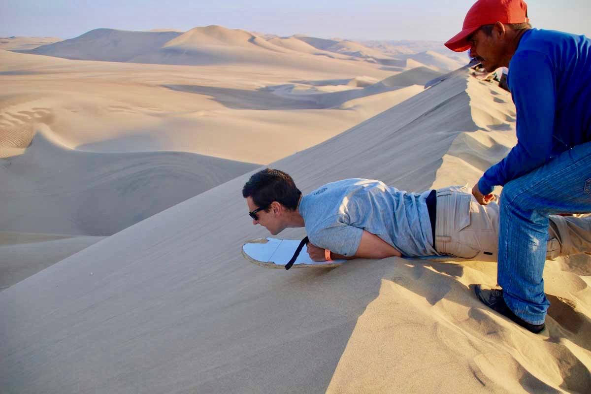 tom lancee sandboard
