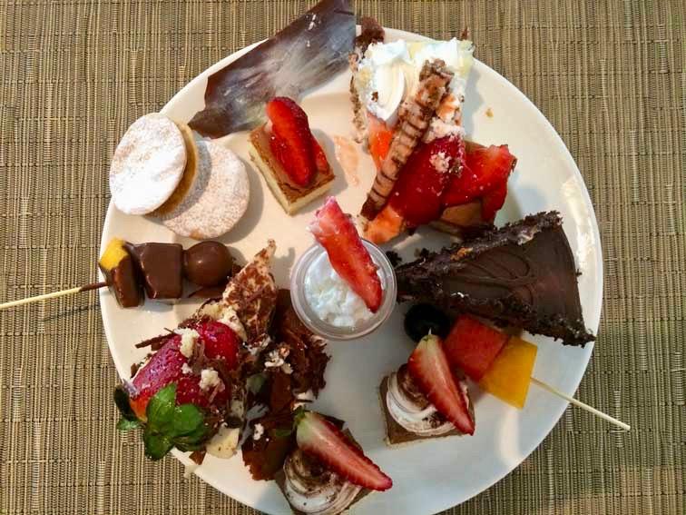 assiette dessert alma