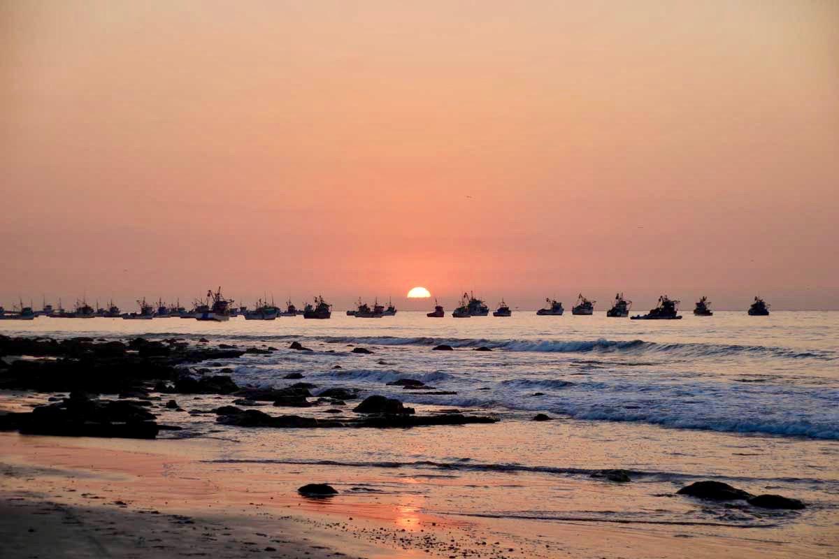 coucher de soleil Mancora