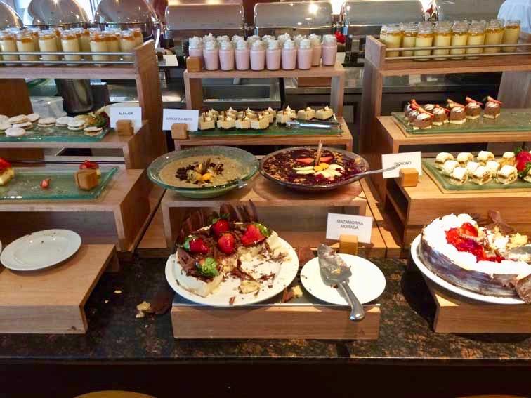 desserts buffet alma