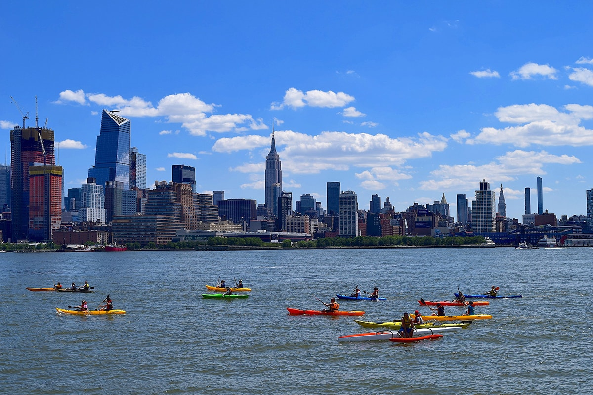 New York Kayak Husdon River New York autrement