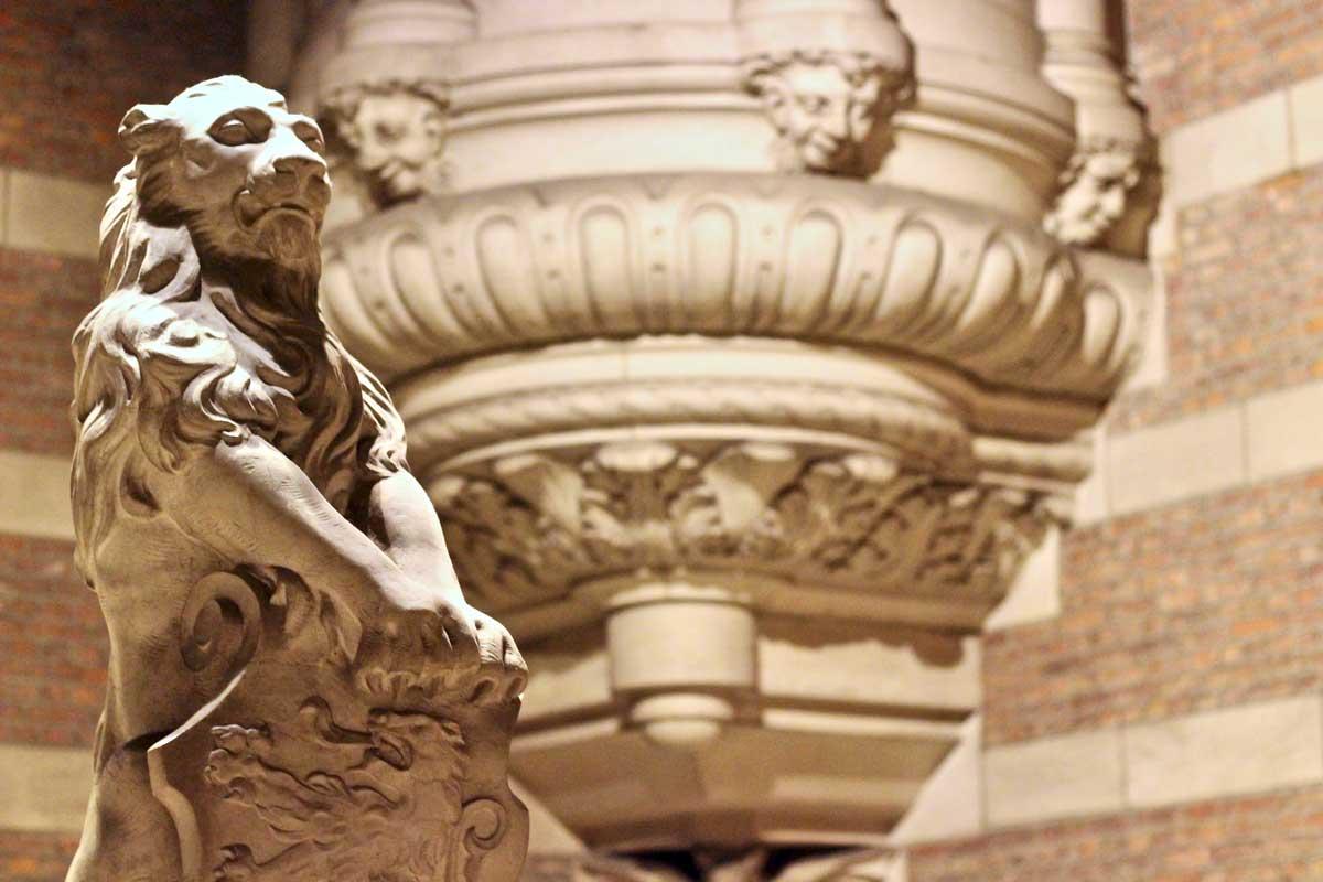 statue bibliotheque universite louvain