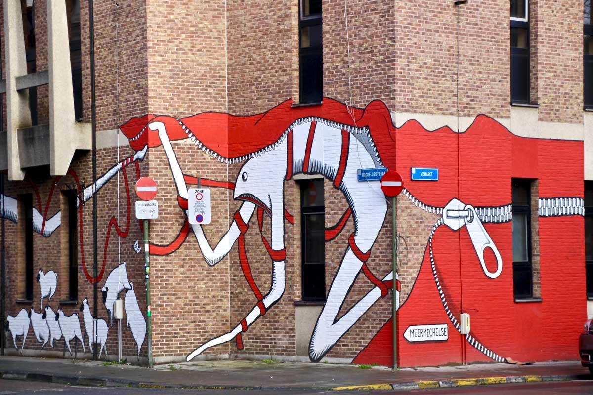 street-art louvain belgique