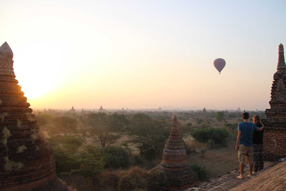 lever soleil bagan memorable birmanie