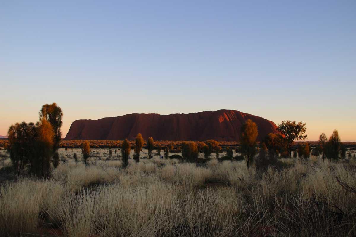 uluru lever soleil australie memorable