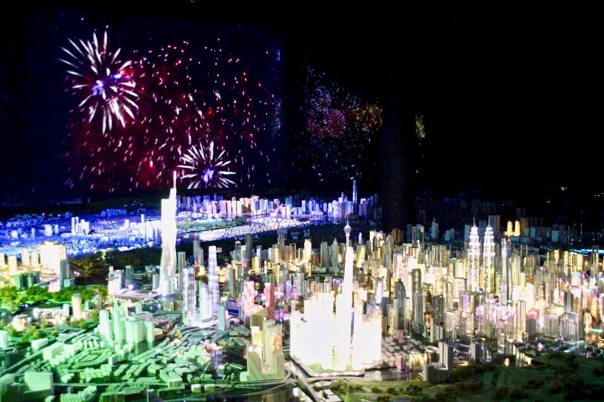 Animation futur ville KL