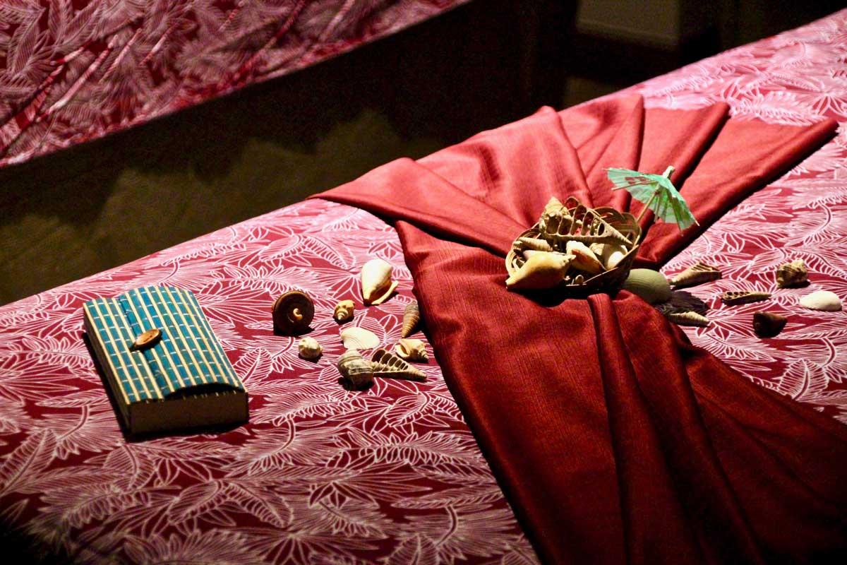 Decoration ambiance rose Spa Danai Kuala Lumpur