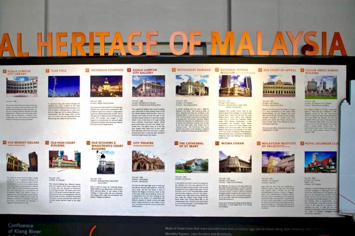 Histoire de la Malaisie KL City Gallery Kuala Lumpur