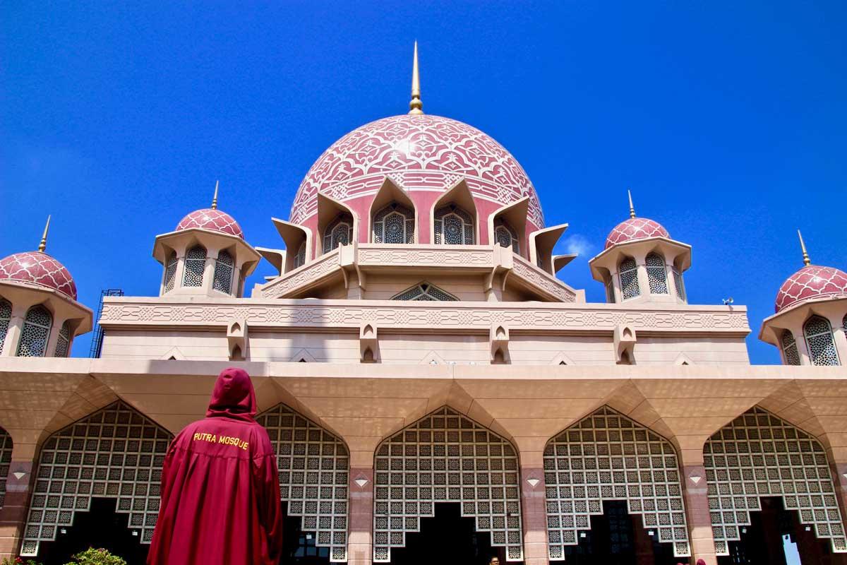1 jour à Putrajaya : mosquée rose