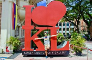 Tom Logo I Love KL rouge