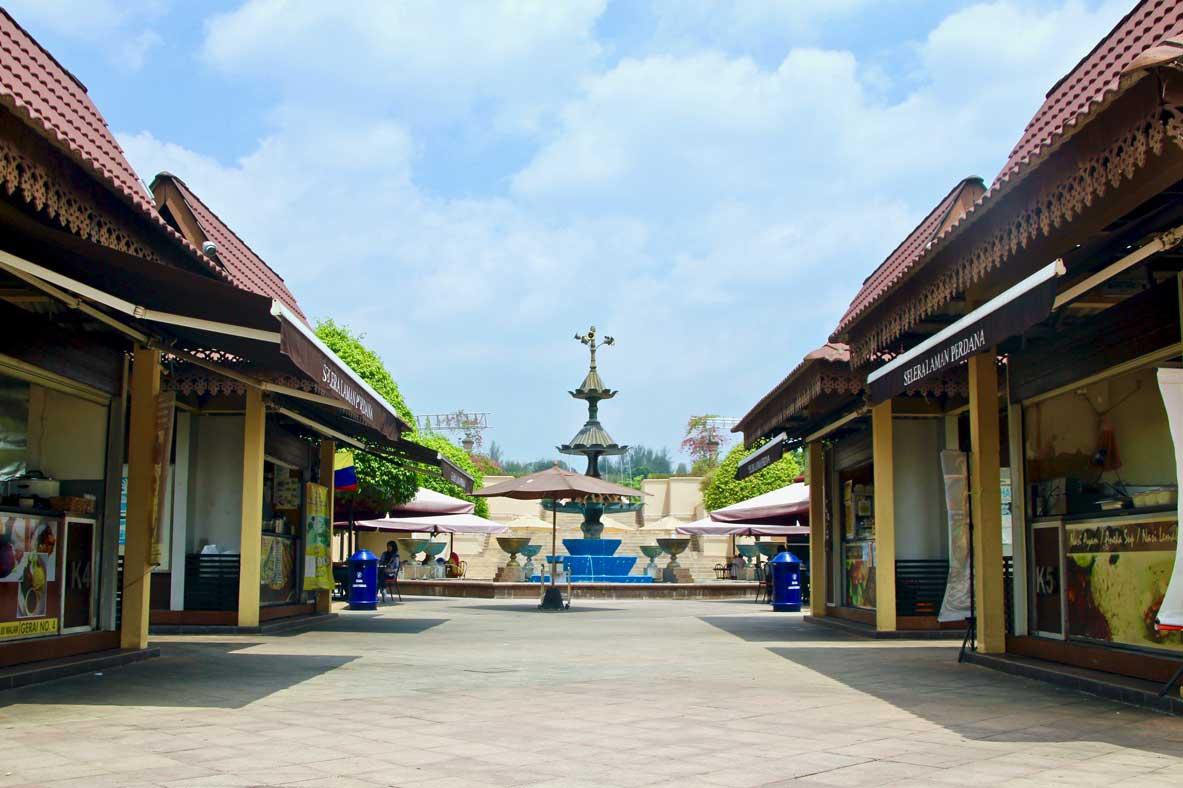 food court Selara Laman Perdana Putrajaya