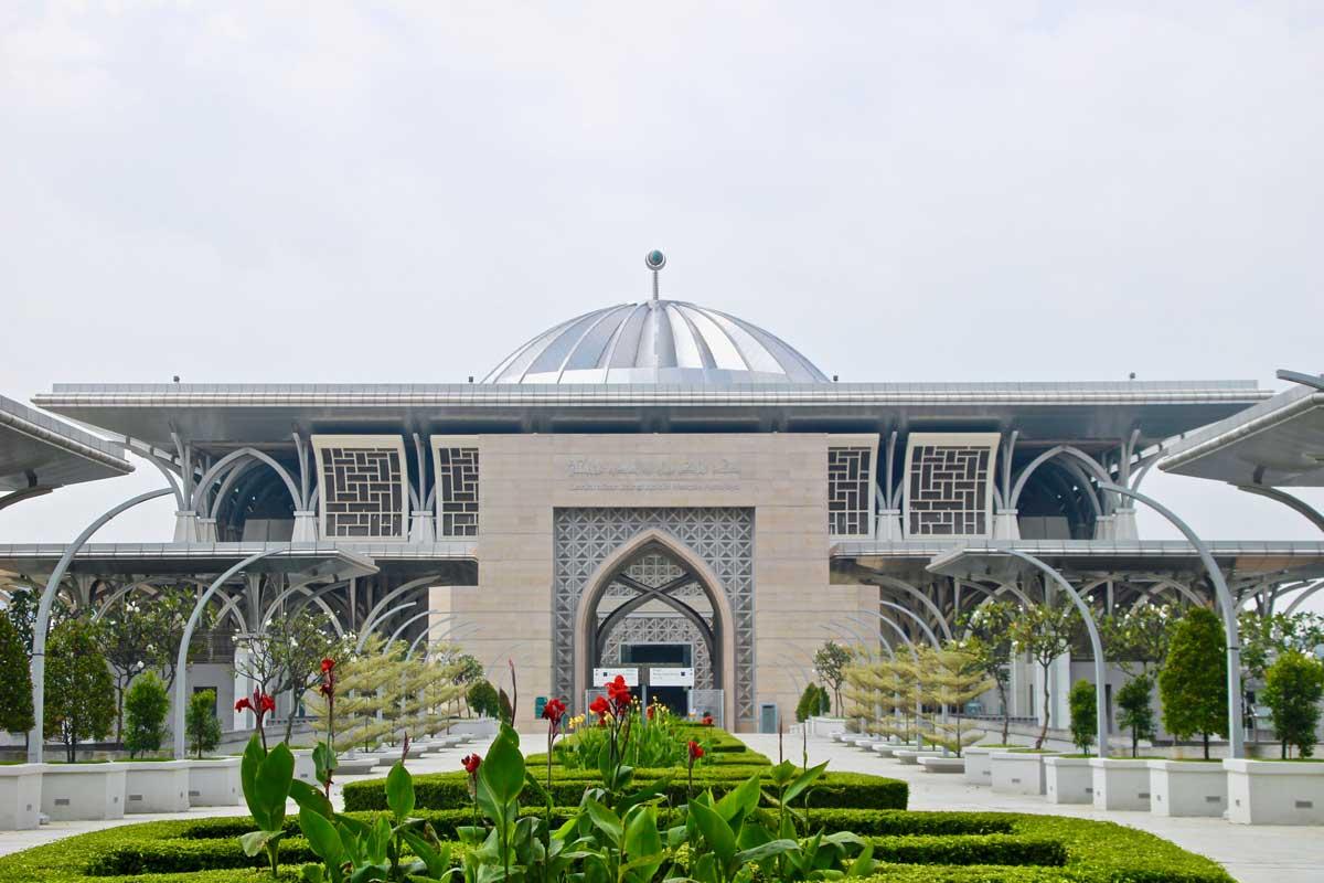 mosquee Tank Mizan Mizan Zainal Abidin putrajaya en malaisie