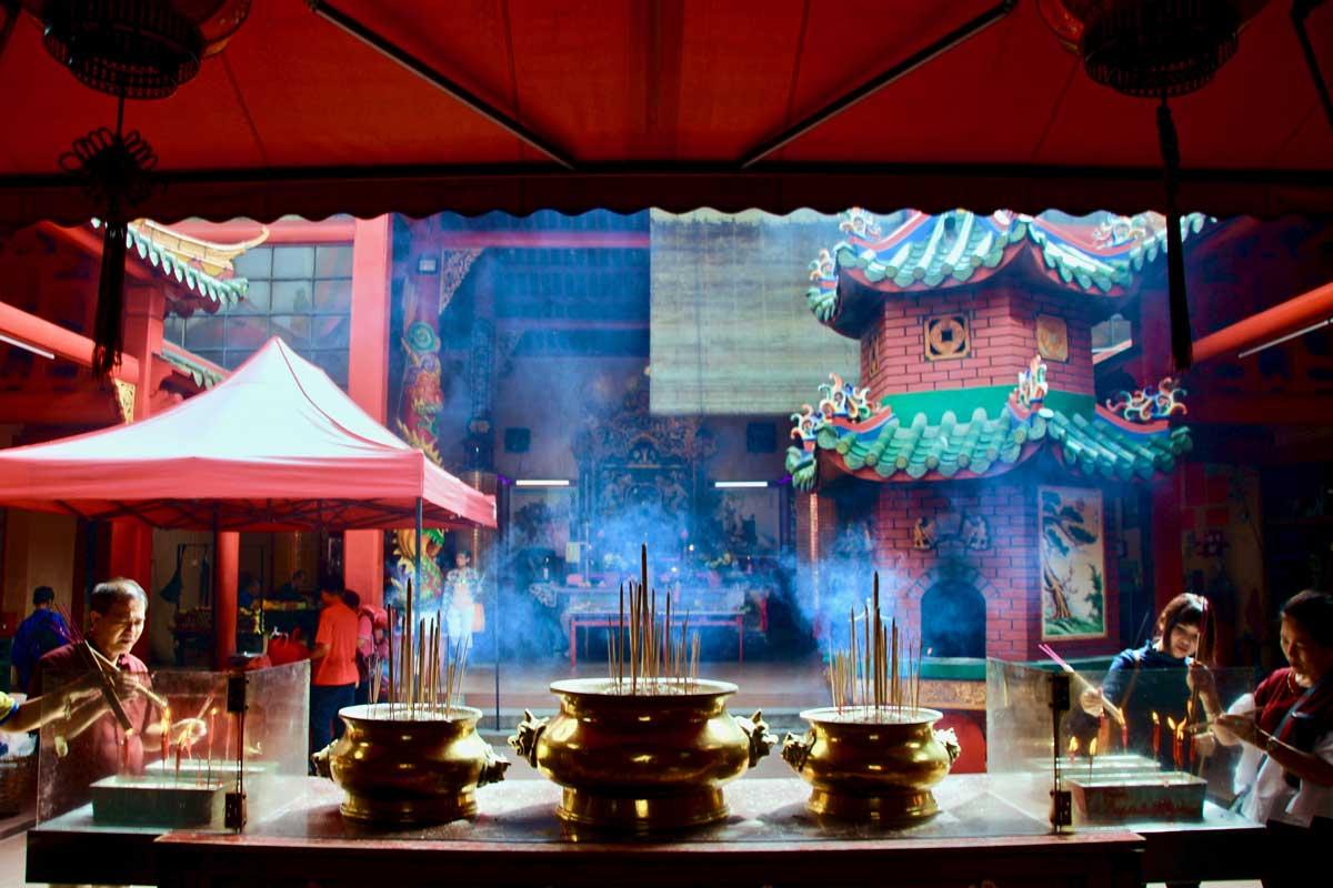 temple chinois chinatown kuala lumpur