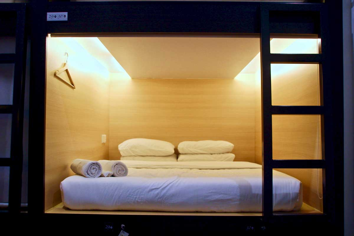 capsule hotel Star Anise Boutique Capsules Colombo