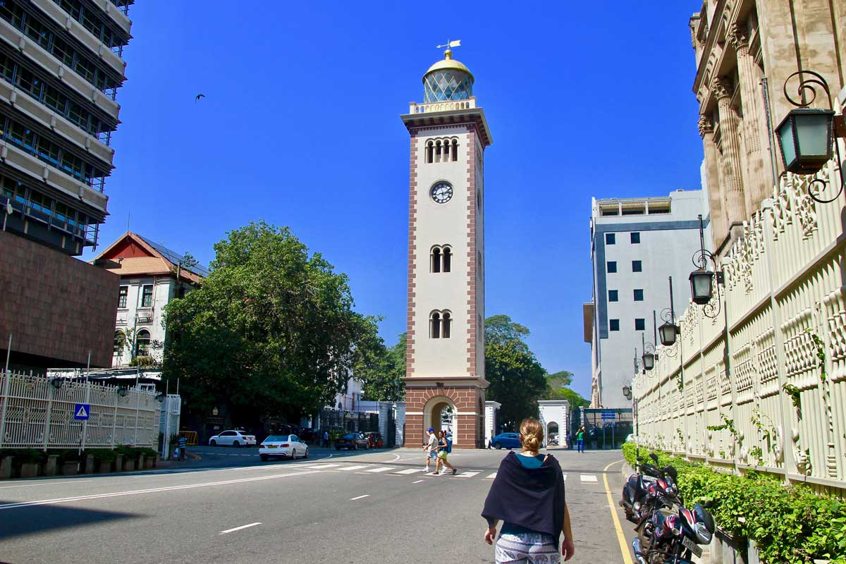 clock tower colombo fort