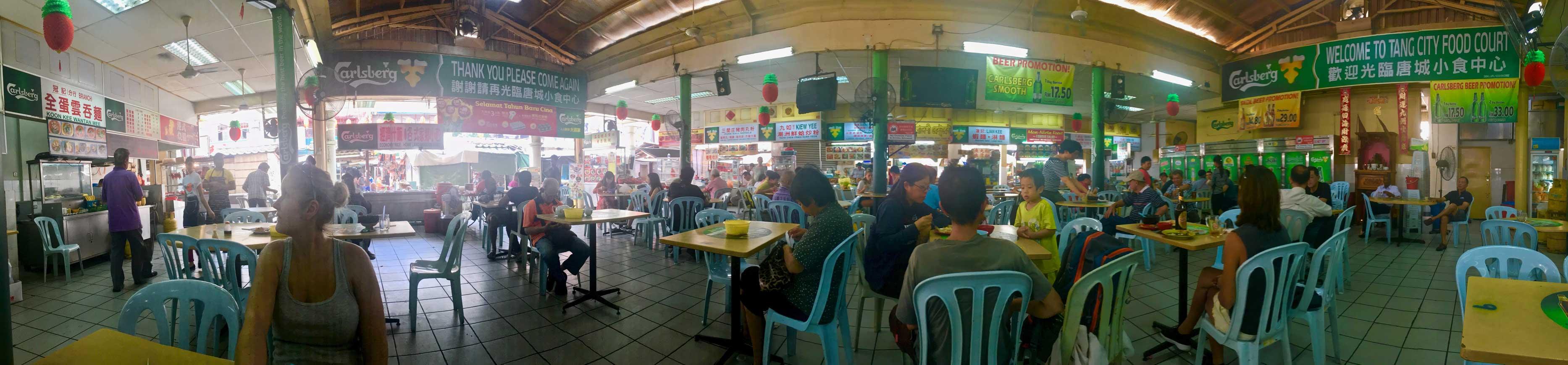 food court chinatown kuala lumpur