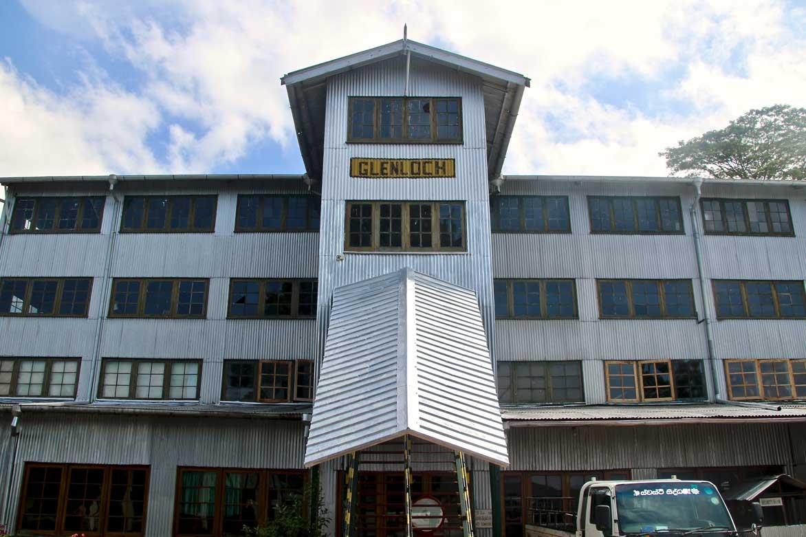 glenloch tea factory nuwara eliya sri lanka
