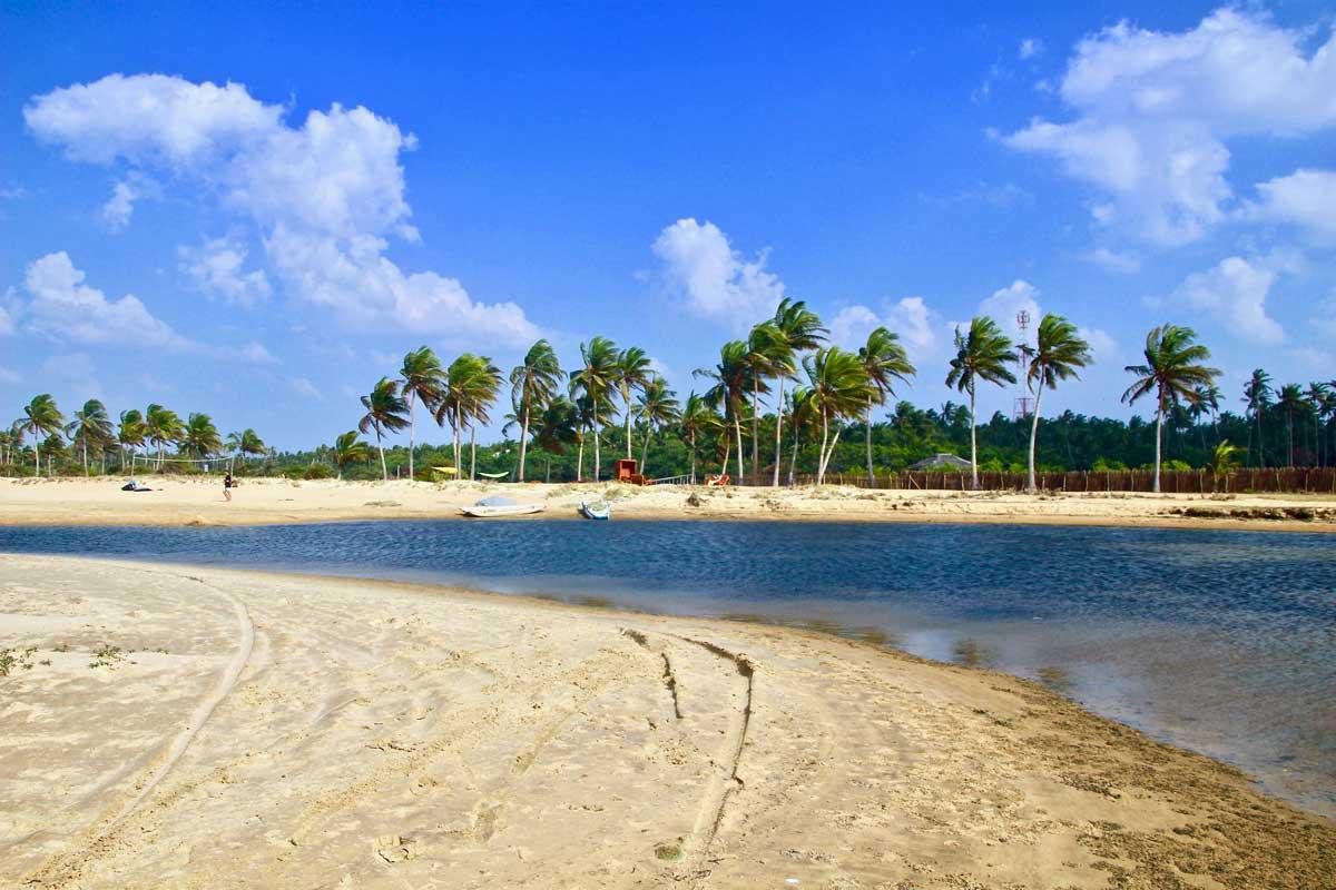 lagon kite Surfing Lanka Kalpitiya