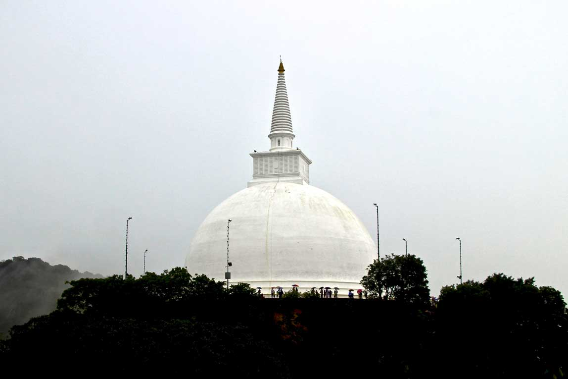 pagode Mihintale anuradhapura sri lanka