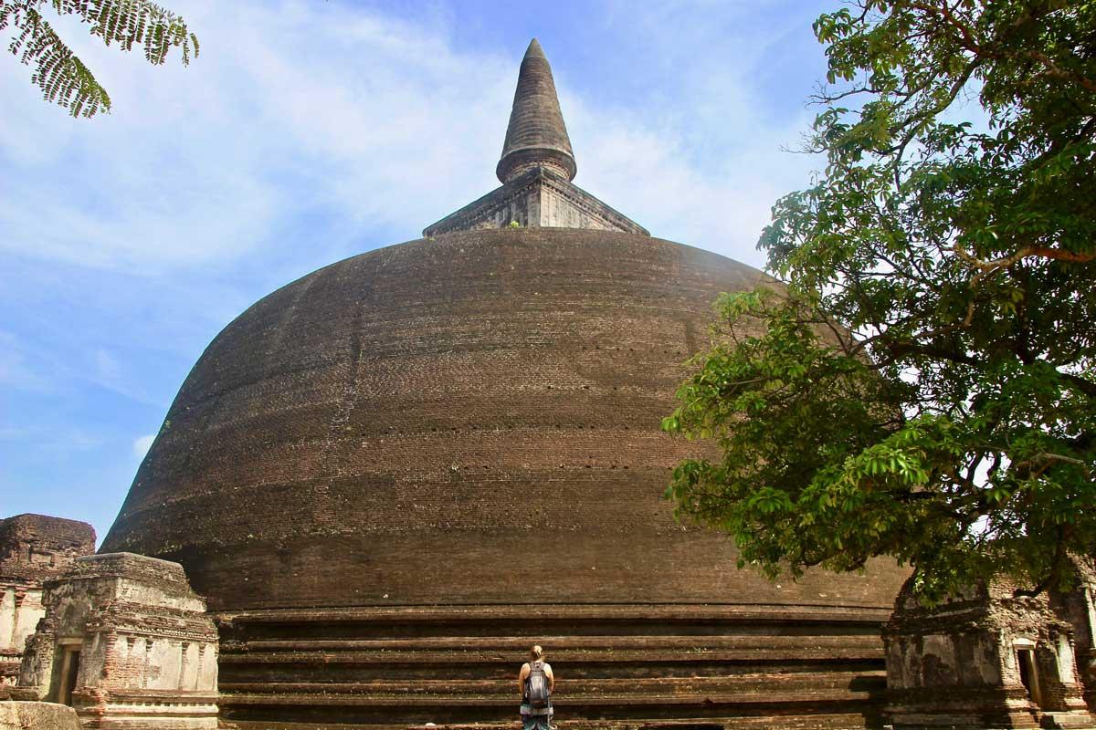 pagode Polonnaruwa Sri Lanka