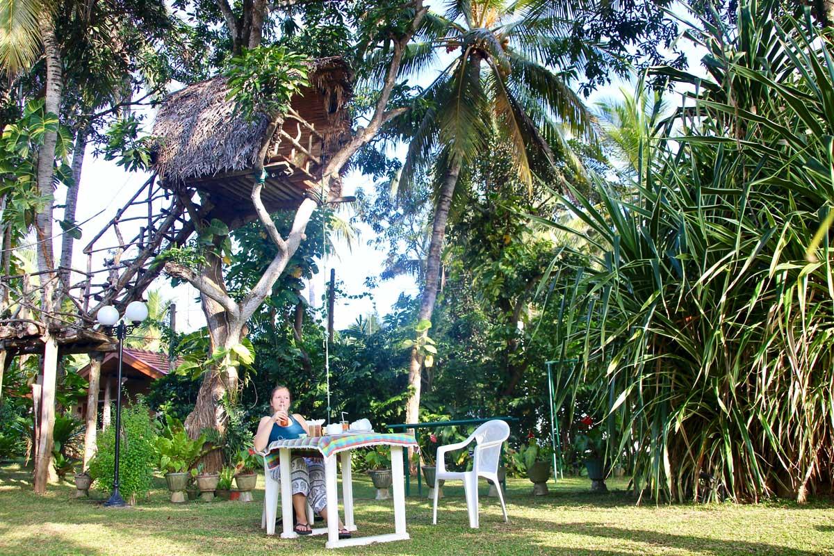 petit dejeuner villa shade negombo