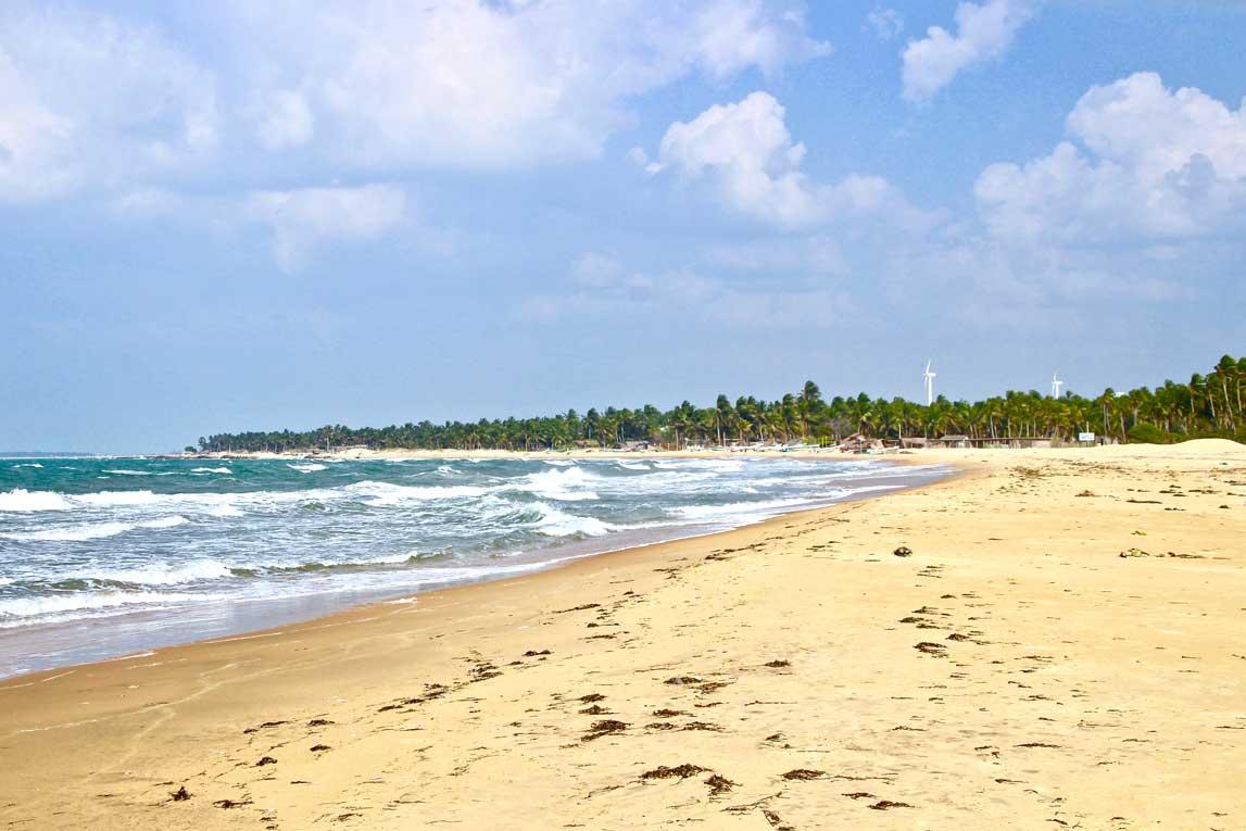 plage kite Surfing Lanka Kalpitiya